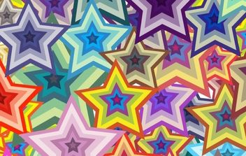 star background - vector gratuit #169909