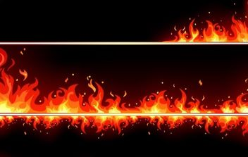 Fire Elements - vector #170109 gratis