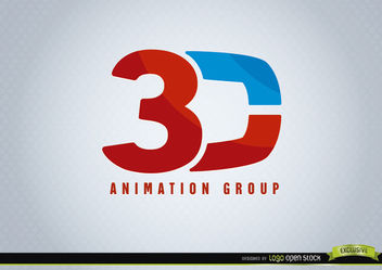 3D Animation logo - vector #170269 gratis