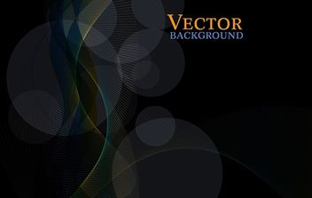 Free Dark Abstract Vector Background - Tapeyman - Free vector #170959