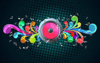 Free Music Illustration - vector #171029 gratis