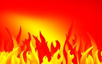 Abstract fire - vector gratuit #171269