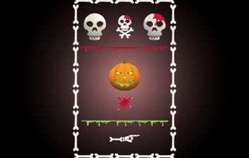 Halloween Site Kit Pack - Kostenloses vector #171949