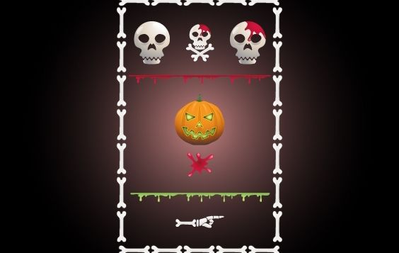 Halloween-Site Kit Pack - Kostenloses vector #171949