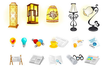 Cool Vector Icons - vector #172289 gratis