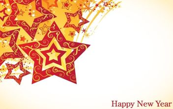 Lunar New Year Theme Vector turntable star material - vector #172449 gratis