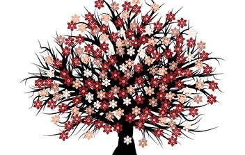 Free vector blossom tree - Free vector #172719