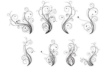 Free Vector Flourishes - Free vector #172739