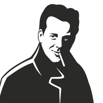 Mickey Rourke Actor Artistic Portrait - Kostenloses vector #173269