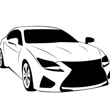 Lexus RC F Luxury Toyota Car - vector #173279 gratis