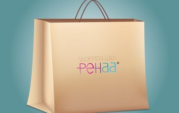 Shopping Bag Paper Made - бесплатный vector #174109