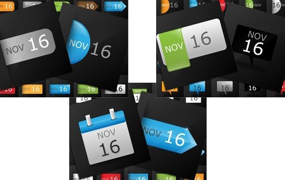 Data calendário Icon Pack - Free vector #174359