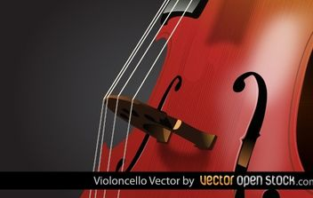 Violin Cello - vector #174439 gratis