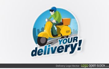 Delivery Logo - Free vector #174719