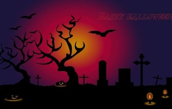 Happy halloween - Free vector #174739