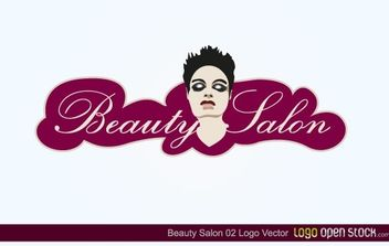 Beauty Salon Logo 2 - Free vector #174749