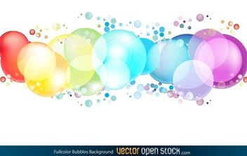 Colorful Circles - vector gratuit #174889