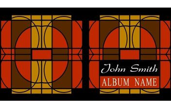 Art-Deco CD Cover - vector #174929 gratis