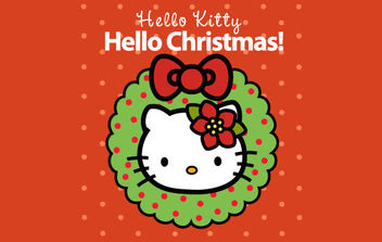 Hello Kitty Mini eCard - Free vector #175139