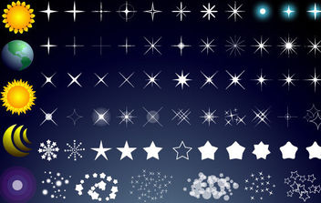 Free Vector Stars - Free vector #175299