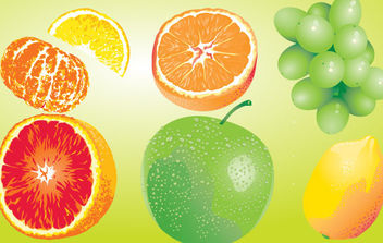 Fruit - vector gratuit #175349