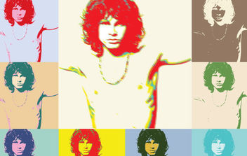 The Doors Poster - vector gratuit #175469