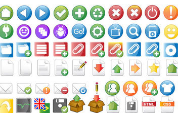 Kameo Icon Set - vector #175539 gratis