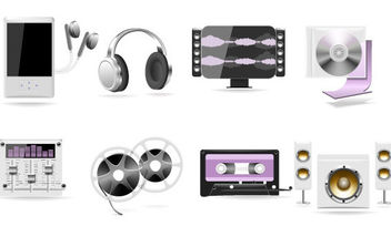 Musical Items - vector gratuit #175669
