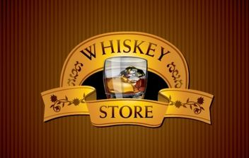 Whisky Store - vector gratuit #175949