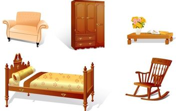 Furniture - vector gratuit #176159