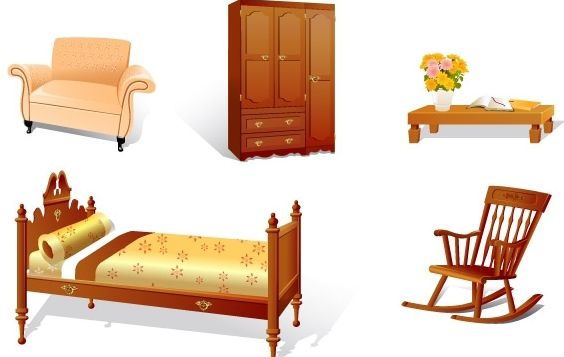Furniture - Free vector #176159