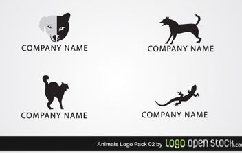 Animal Logo Pack 02 - бесплатный vector #176309