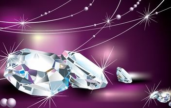 VECTOR DIAMOND COOL MATERIAL - vector gratuit #176459