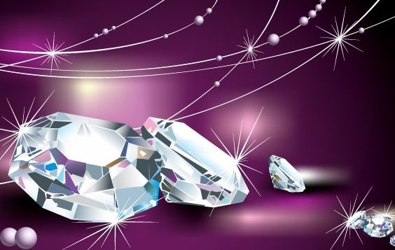 Vector Material fresco de diamante - vector #176459 gratis