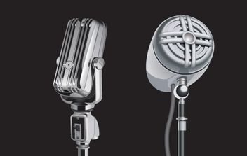 Microphone - Free vector #176469