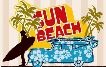 Beach Graphic - vector #176489 gratis