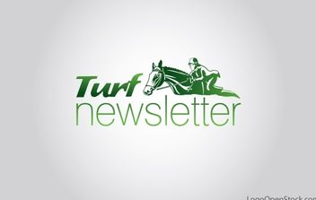 Turf Newsletter Logo - vector #176739 gratis