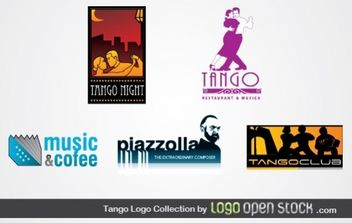 Tango Logo Collection - vector #176749 gratis