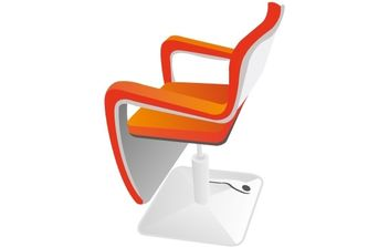 HAIRDRESSING SEAT - Free vector #176779