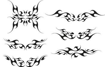 Vector tribal wings - Free vector #177089