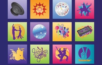 Music Graphics - vector #177379 gratis