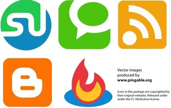 Web 2.0 Services - Free vector #177559