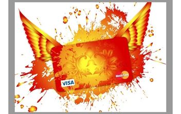 Credit Card Vector - vector gratuit #177649