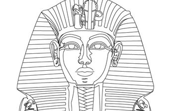 King Tut Vector - Free vector #177679