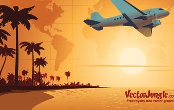 FREE TRAVEL VECTOR - Free vector #177829