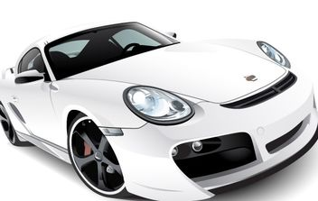 Porshe car vector - бесплатный vector #177959