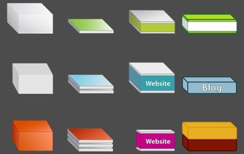 Free Vector Boxes - Free vector #178419