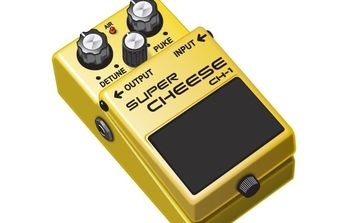 The Cheese-y Guitar Pedal - vector gratuit #178509