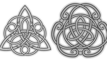 Celtic Tattoo Designs - Free vector #178599