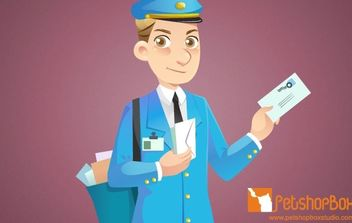Mail Man - vector gratuit #178739